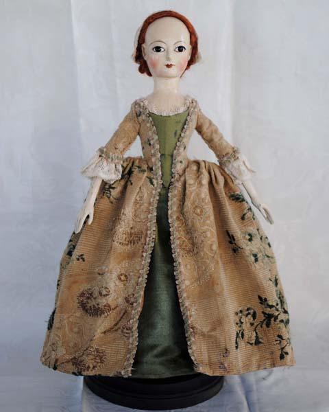 18th Century English Wooden Dolls 18th Century Women